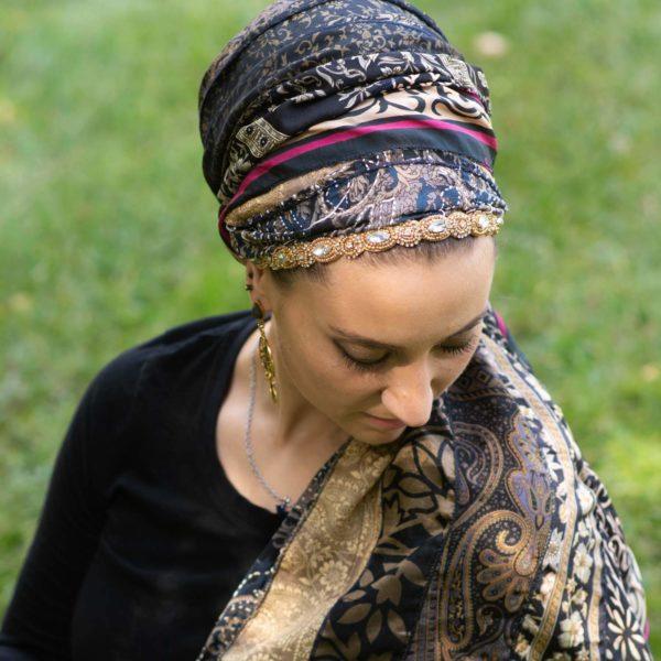 Vintage Beauty Headband 2 – Wrapunzel