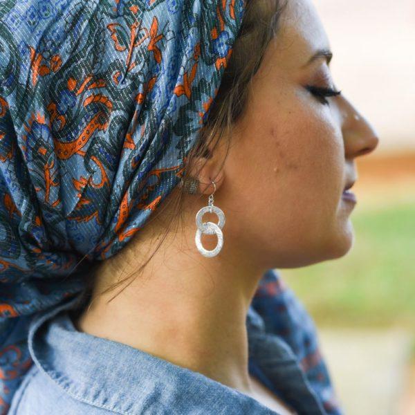 Linking Us All Earrings 2 – Wrapunzel
