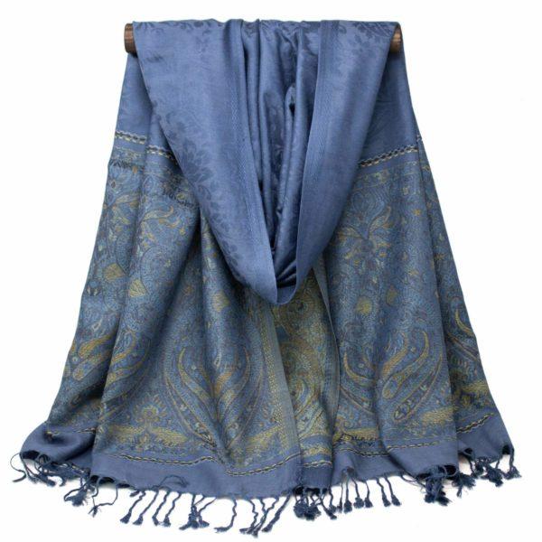 Fireside Snuggle Scarf (Blue) – Wrapunzel